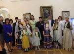 Участники презентации и фольклорный ансамбль «Фидан»