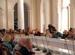 Заседание научной конференции в Парадной столовой Ливадийского дворца-музея.