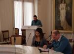Д.В. Конкин делает доклад на конференции