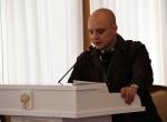 Н.И. Храпунов делает доклад на конференции