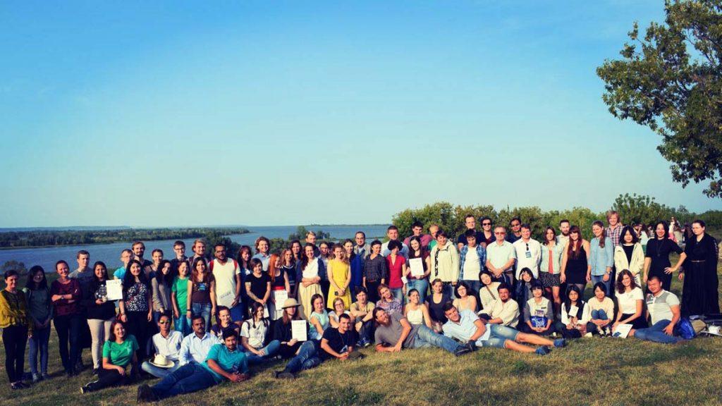 Участники Международной археологической школы
