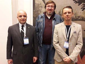 Сотрудники НИЦ ИАК (слева направо): Н.И. Храпунов, Д.А. Прохоров, Д.В. Конкин.